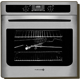 the world's first pyrolytic oven range